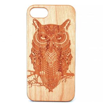 Owl (Wooden) - iPhone 6
