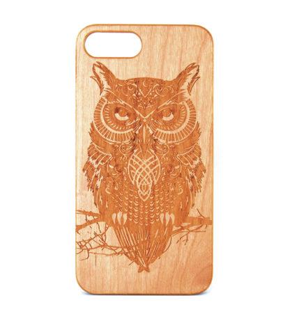 Owl (Wooden) - iPhone 7 Plus