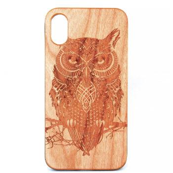 Owl (Wooden) - iPhone X